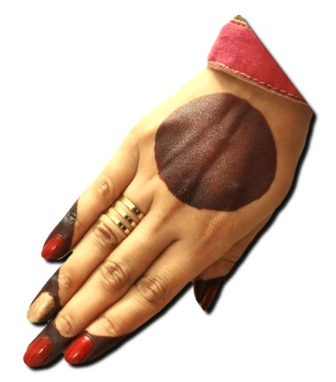 Simple Back Hand Henna Design