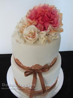 bolo casamento rendas doces opções bragança