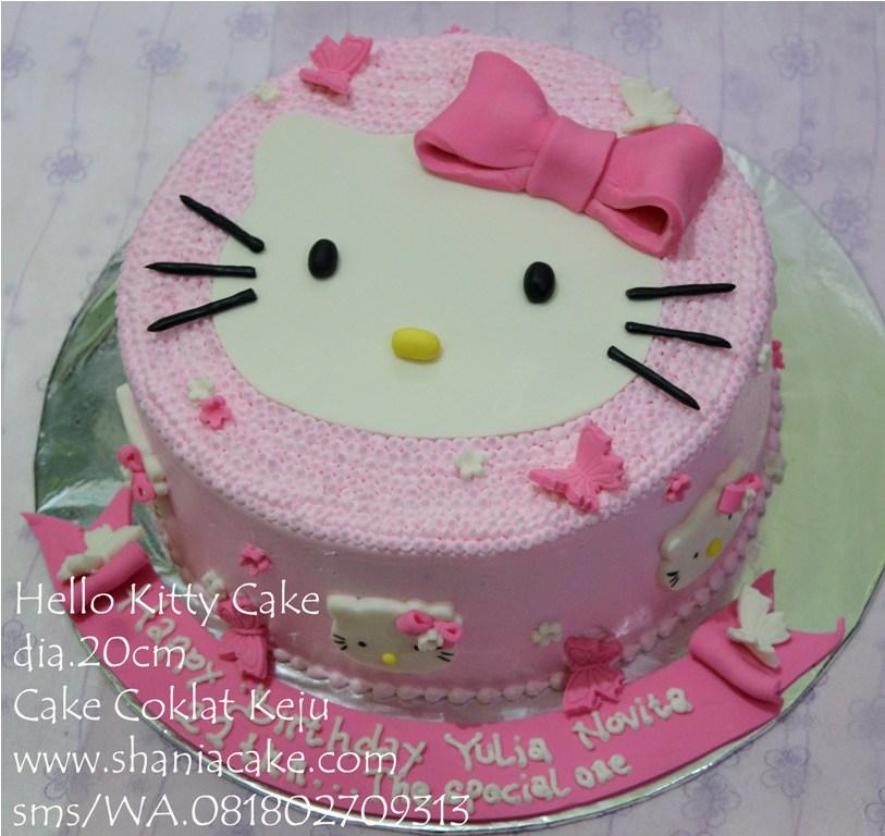 [Birthday Cake Jogja] Hello Kitty Cake Pak Emil Jakarta