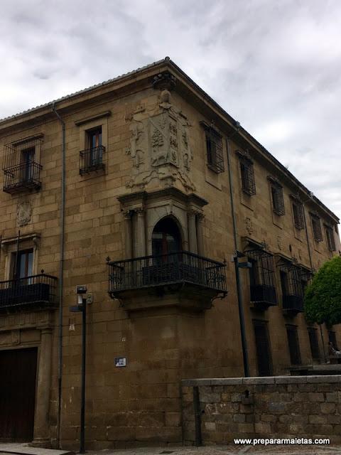 casas palacio de Plasencia