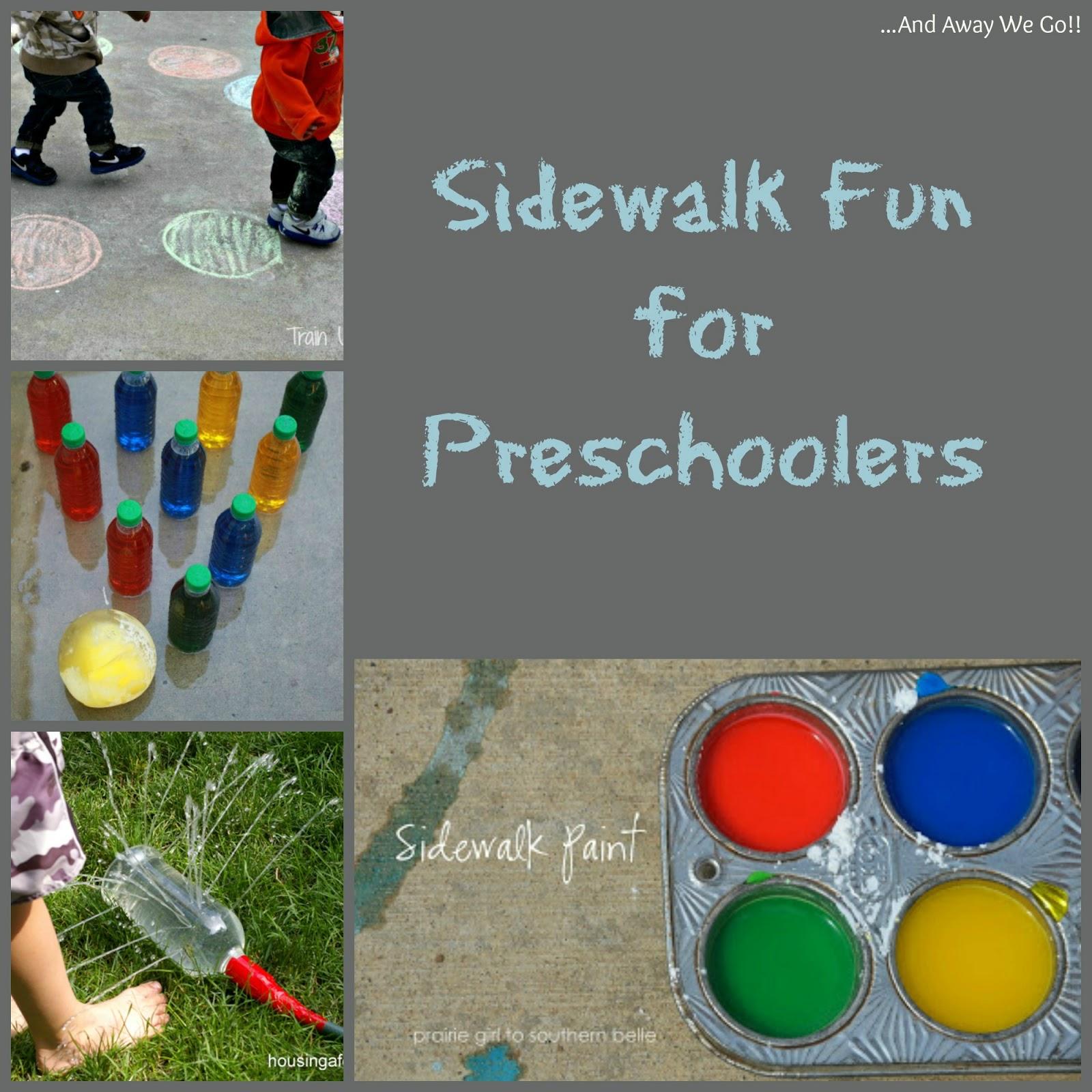 and away we go Outdoor Games for Preschoolers
