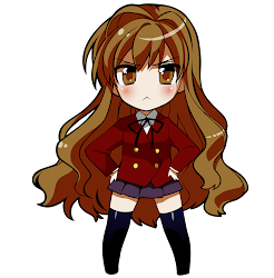 chibi taiga toradora aisaka cute character anime kawaii transparent fanpop background characters grimgar avatars clipart manga ash creativity essencial said