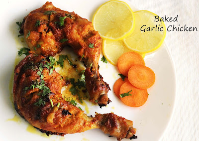 baked lemon garlic chicken recipe garlic chicken dish ayeshas kitchen chicken recipes kerala dish