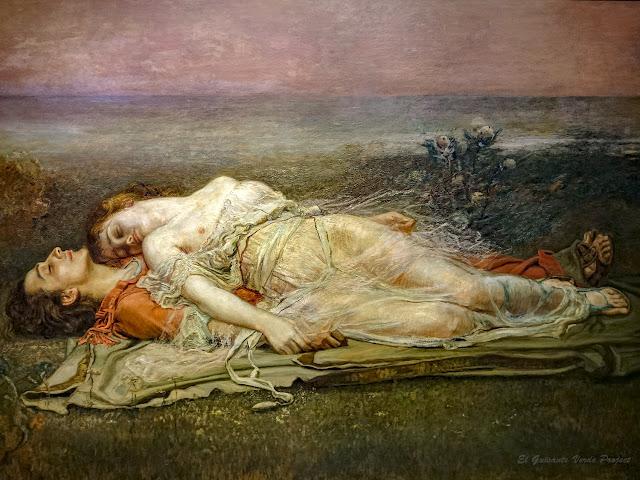 Tristán e Isolda (la muerte), Rogelio de Egusquiza - Museo Bilbao por EGVP