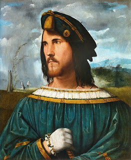 Altobello Melone's portrait of Cesare Borgia