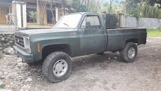 LAPAK BAHAN MOBIL Chevy K20 Pik up th 1979 - BEKASI
