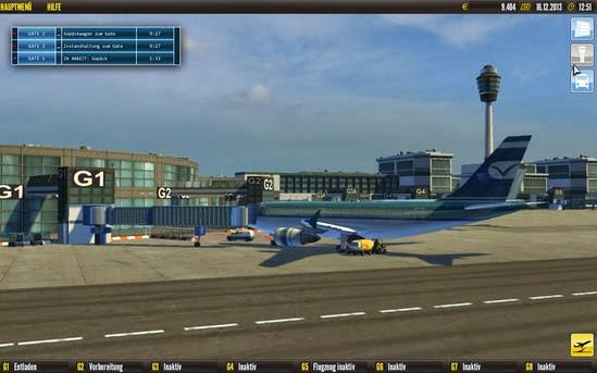 Gameplay Airport Simulator 2014
