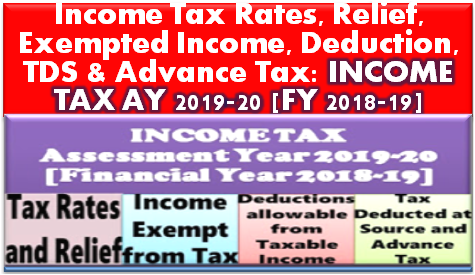 income-tax-ay-2019-20-fy-2018-19-rates-relief-deductions