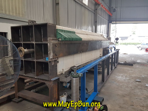 Máy ép bùn khung bản sản xuất hoàn toàn tại Việt Nam