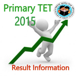 Primary TET 2015 result date