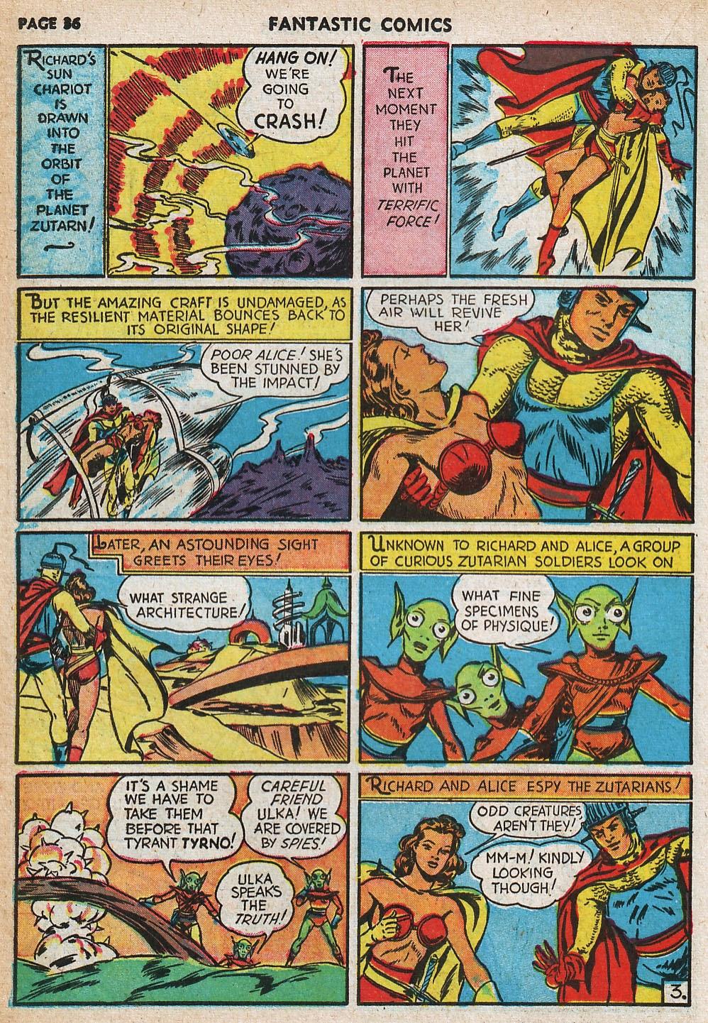 Read online Fantastic Comics comic -  Issue #20 - 36