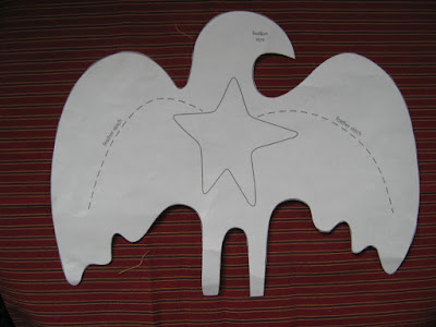 paper pattern for Cheri Payne eagle
