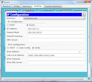 Cara Membuat Simulasi Jaringan Client Server Menggunakan Cisco Packet Tracer