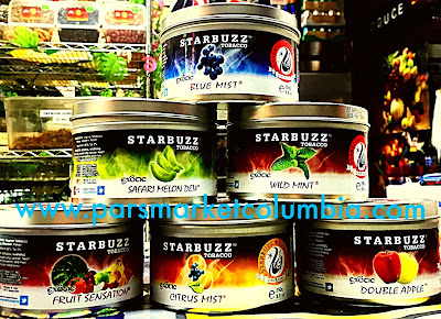 Assortment of Starbuzz Tobacco Flavors at Pars Market Howard County Columbia, MD 21045