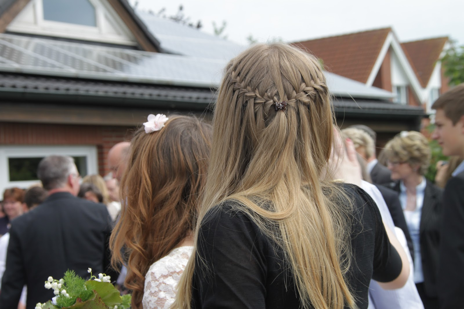 Made By Vaudeeaah Frisur Zur Konfirmation Lange Haare