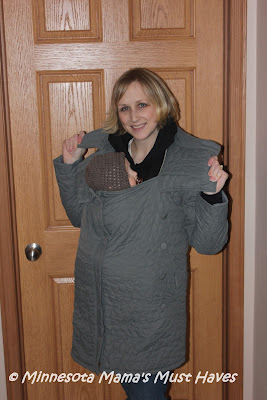 Ergobaby Papoose Coats Review And Papoose Coat Giveaway To