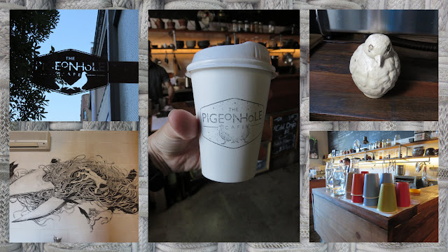 Coffee in Sydney - Pigeonhole Cafe