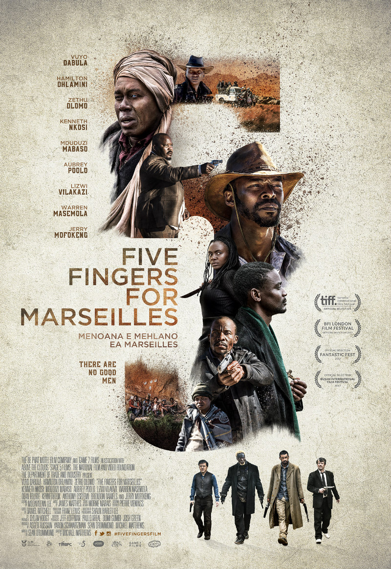 FIVE FINGERS FOR MARSEILLE poster