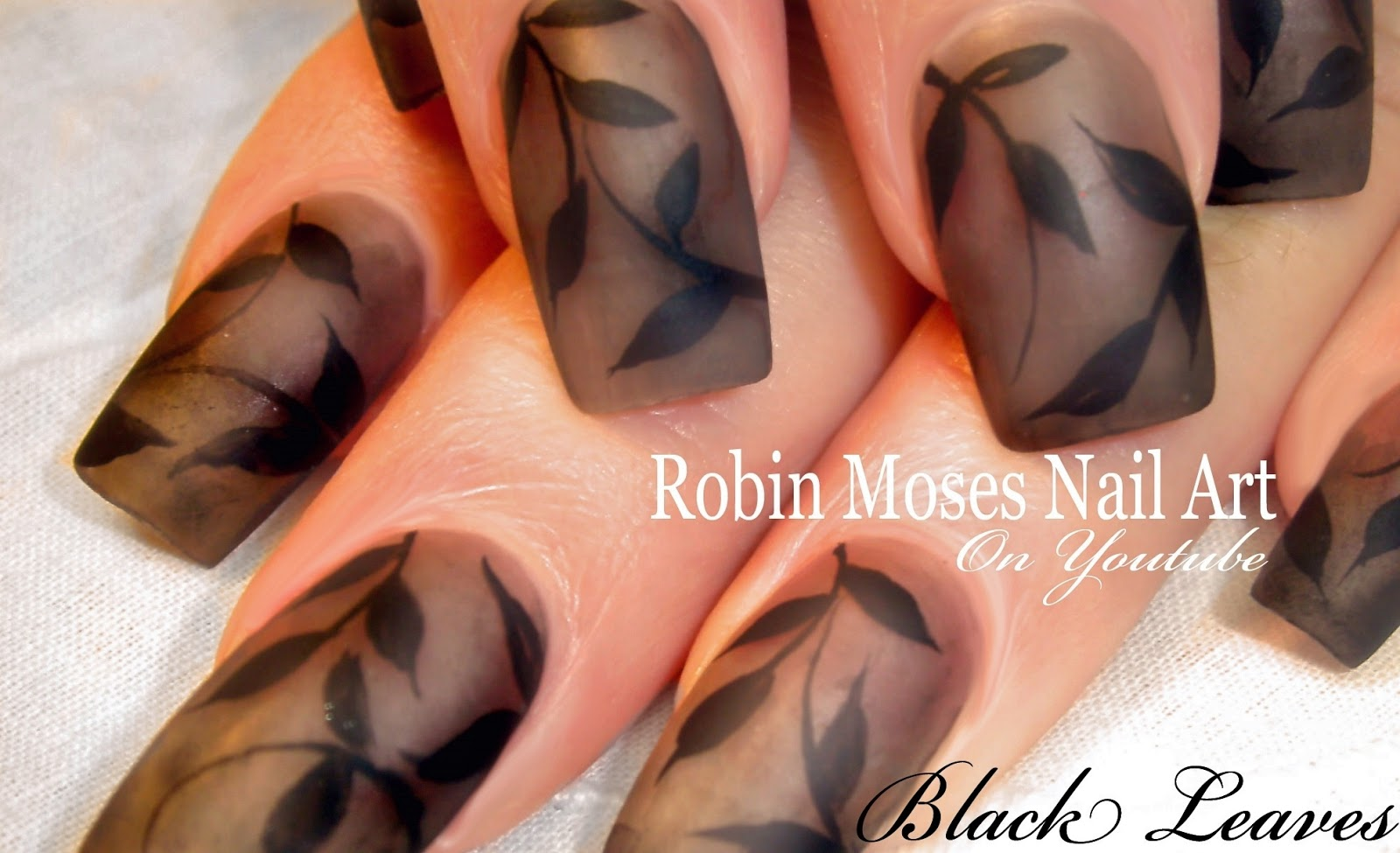 Nail Art By Robin Moses Evolve Your Smokey Grey Matte Design Into A