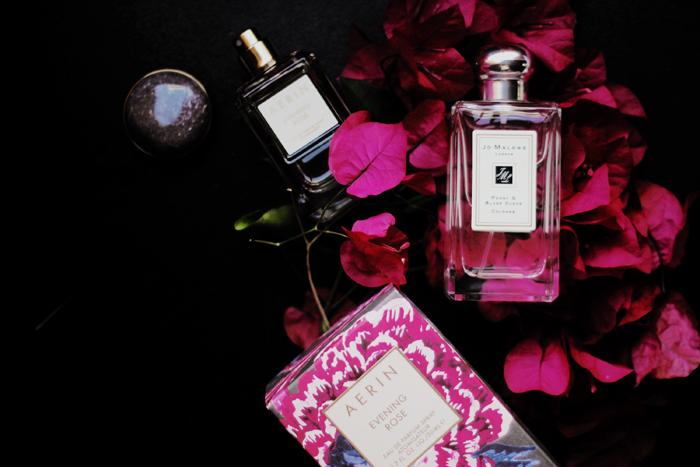 Aerin Lauder Evening Rose perfume blog review