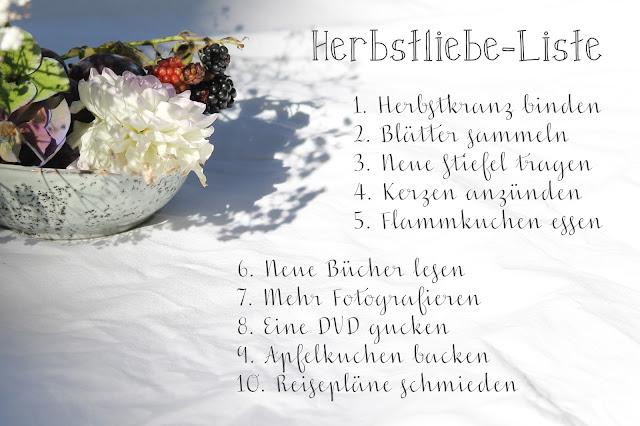 Herbstliebe-Liste Jules kleines Freudenhaus