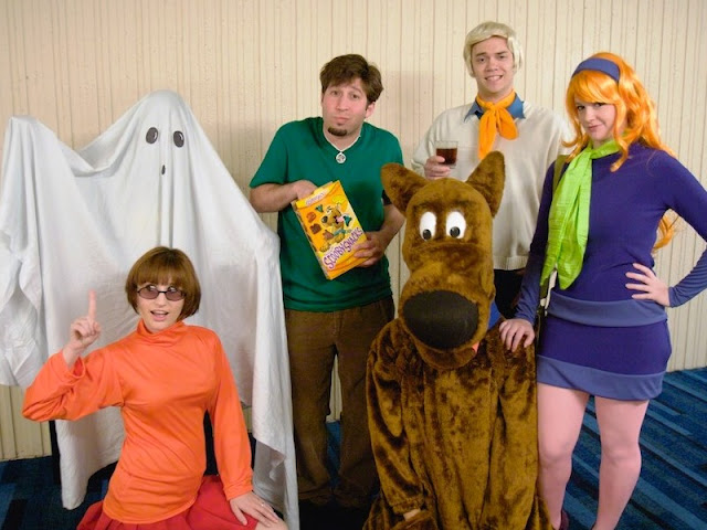 Scooby Drew and Crew Group Costume