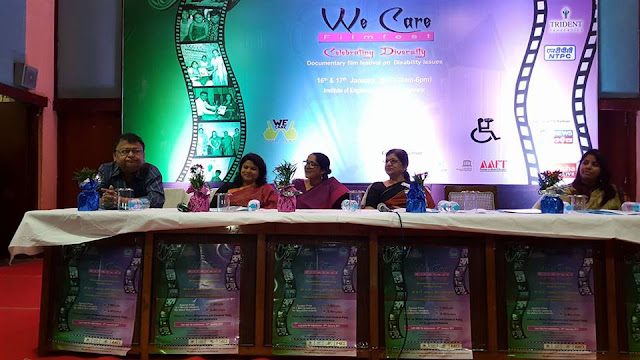 16143139 1844316775845290 3821224601033427656 n Filmfest organised by Aaina for the persons with disabilities at Bhubaneswar