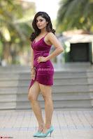 Bhavna Rao in Velvet Cute Small Purple Dress Spicy Pics ~  Exclusive Pics 001.jpg