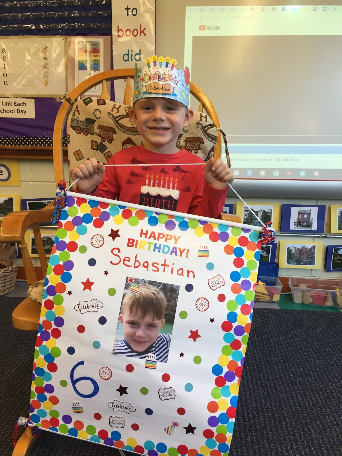 Pine Glen Room 101 Birthday Posters And Labeling