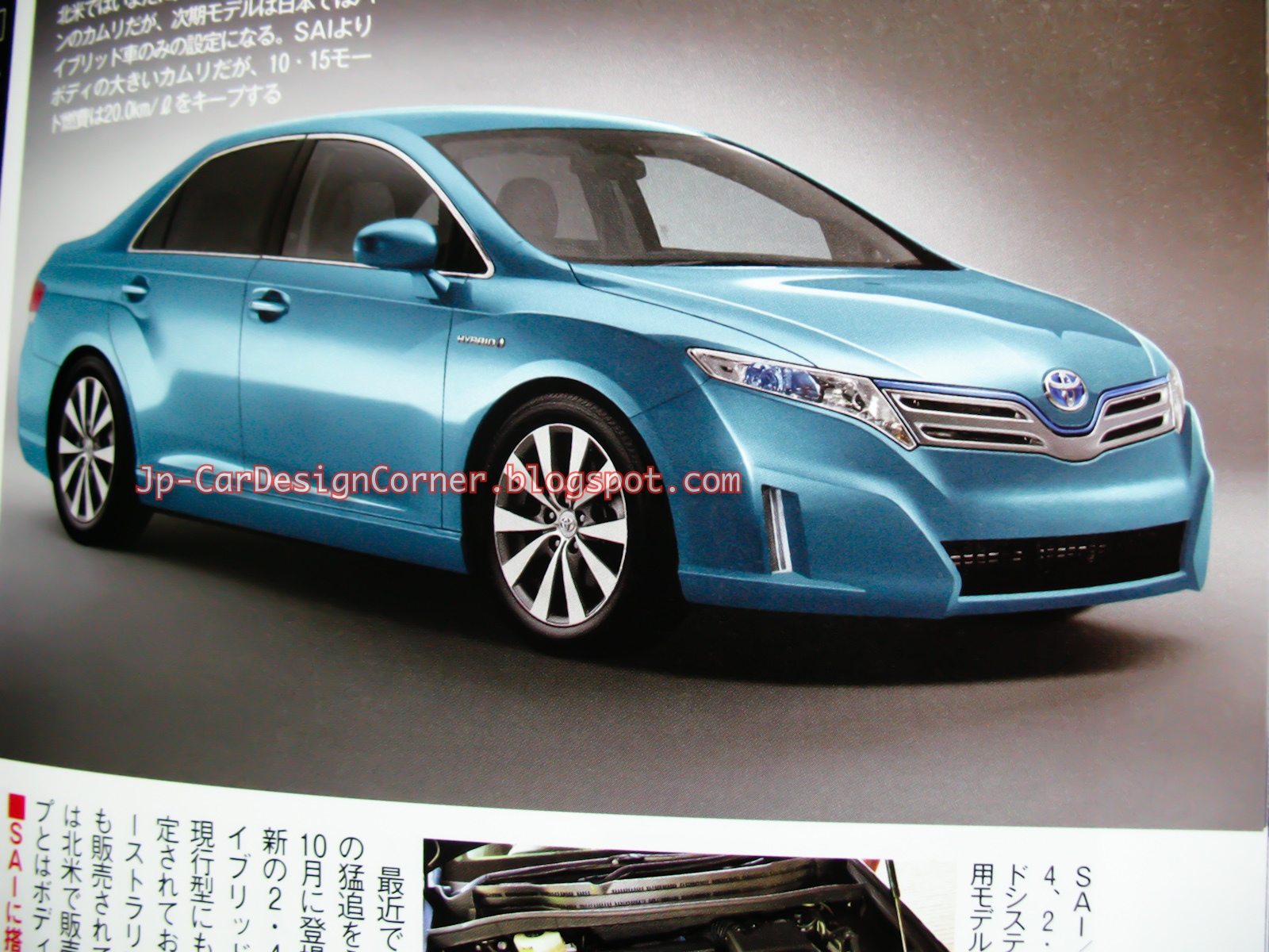 Next Generation Toyota Camry Coming In October