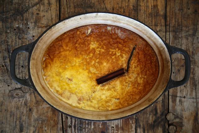 overnight rice pudding
