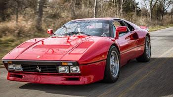 El Ferrari 288 GTO con solo 729 Km recorrido