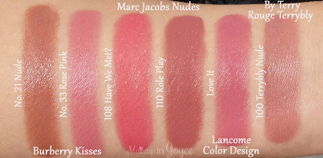 Lancome Color Design Sensational Effects Lipcolor Lipstick in Love It Swatches