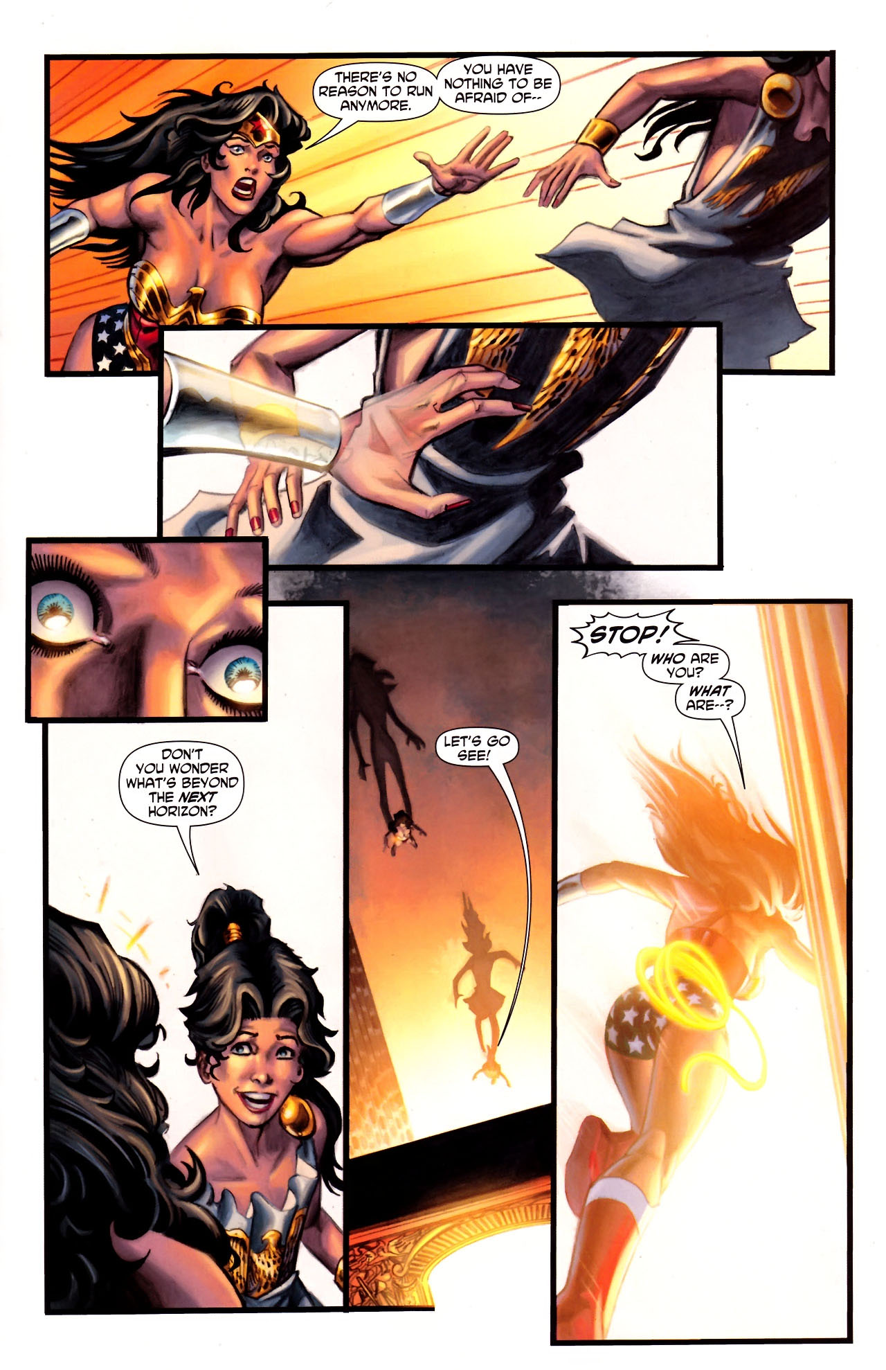 Read online Wonder Woman (2006) comic -  Issue #600 - 34