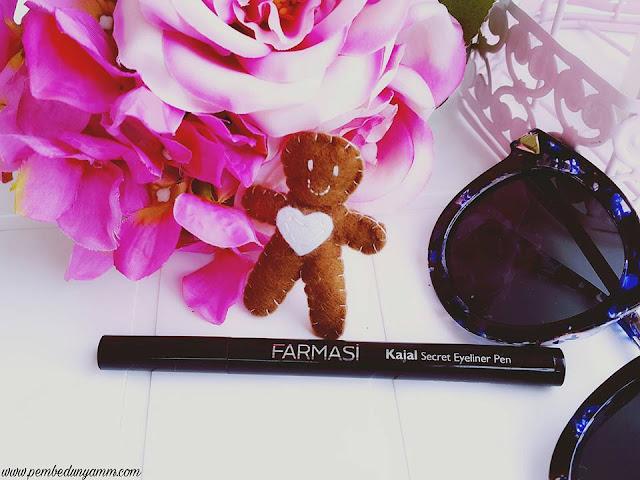 farmasi kajal secret eyeliner pen