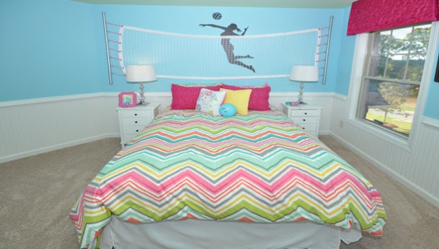 How to Make a Volleyball Themed Bedroom