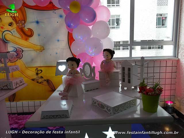Decoração de festa infantil Bailarinas - Aniversário