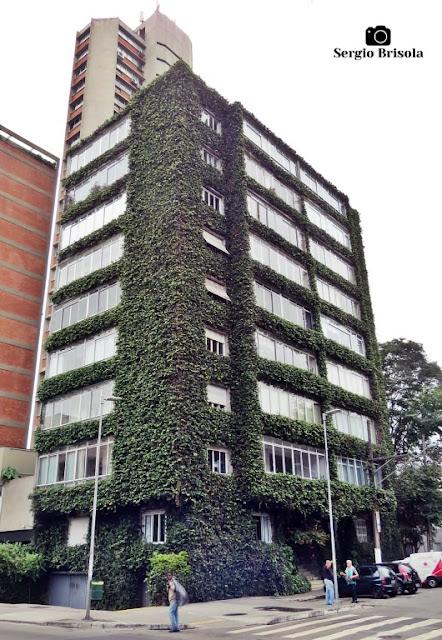 Vista ampla do Edifício Buritama - Jardim Europa - São Paulo