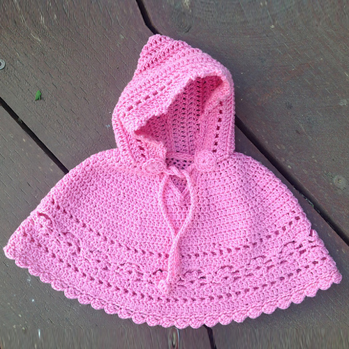 Beautiful Skills Crochet Knitting Quilting Baby Poncho Free