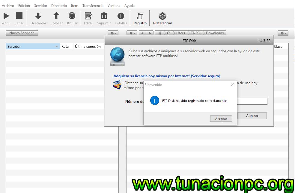 Maxprog FTP Disk con licencia español