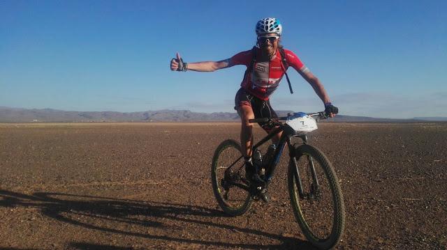 Tercer top 10 de Manuel 'Triki' Beltrán en la Titan Desert