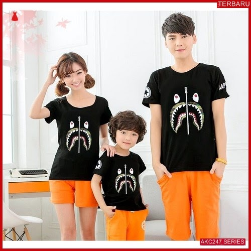 AKC247F104 Family Couple Baju Anak 247F104 Kaos Couple BMGShop