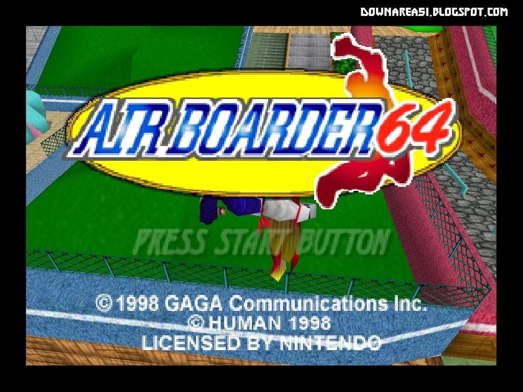 airboarder n64 roms