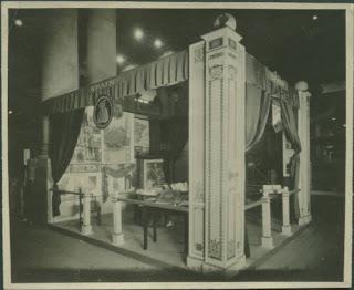 Stand promocional. Museo del Romanticismo