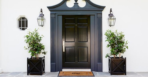 Making an Entrance - A Black Door