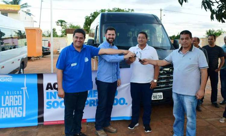 ENGIE doa veículos para auxiliar no transporte de pacientes em Umburanas