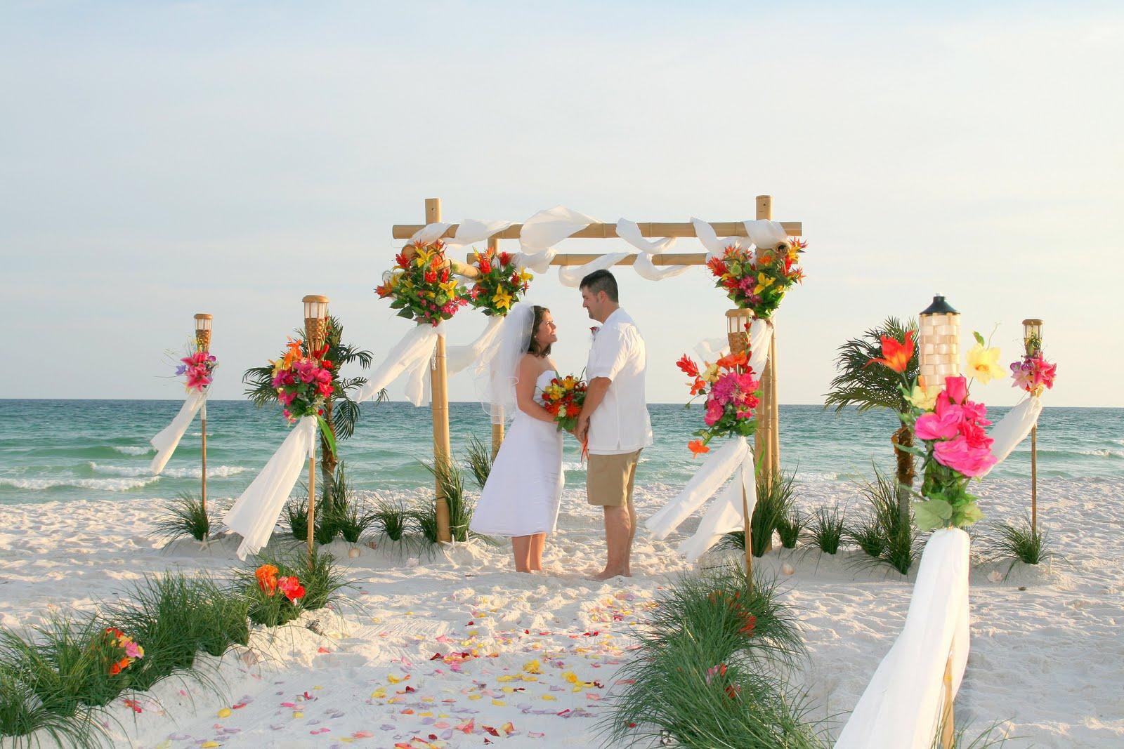 Florida Disneyland: Destin Florida Weddings Packages Beach ...
