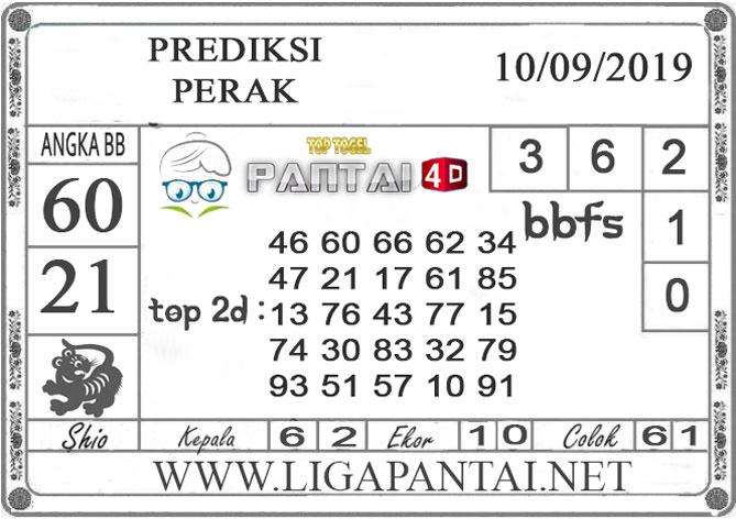 """PREDIKSI TOGEL """"PERAK"""" PANTAI4D 10 SEPTEMBER 2019"""