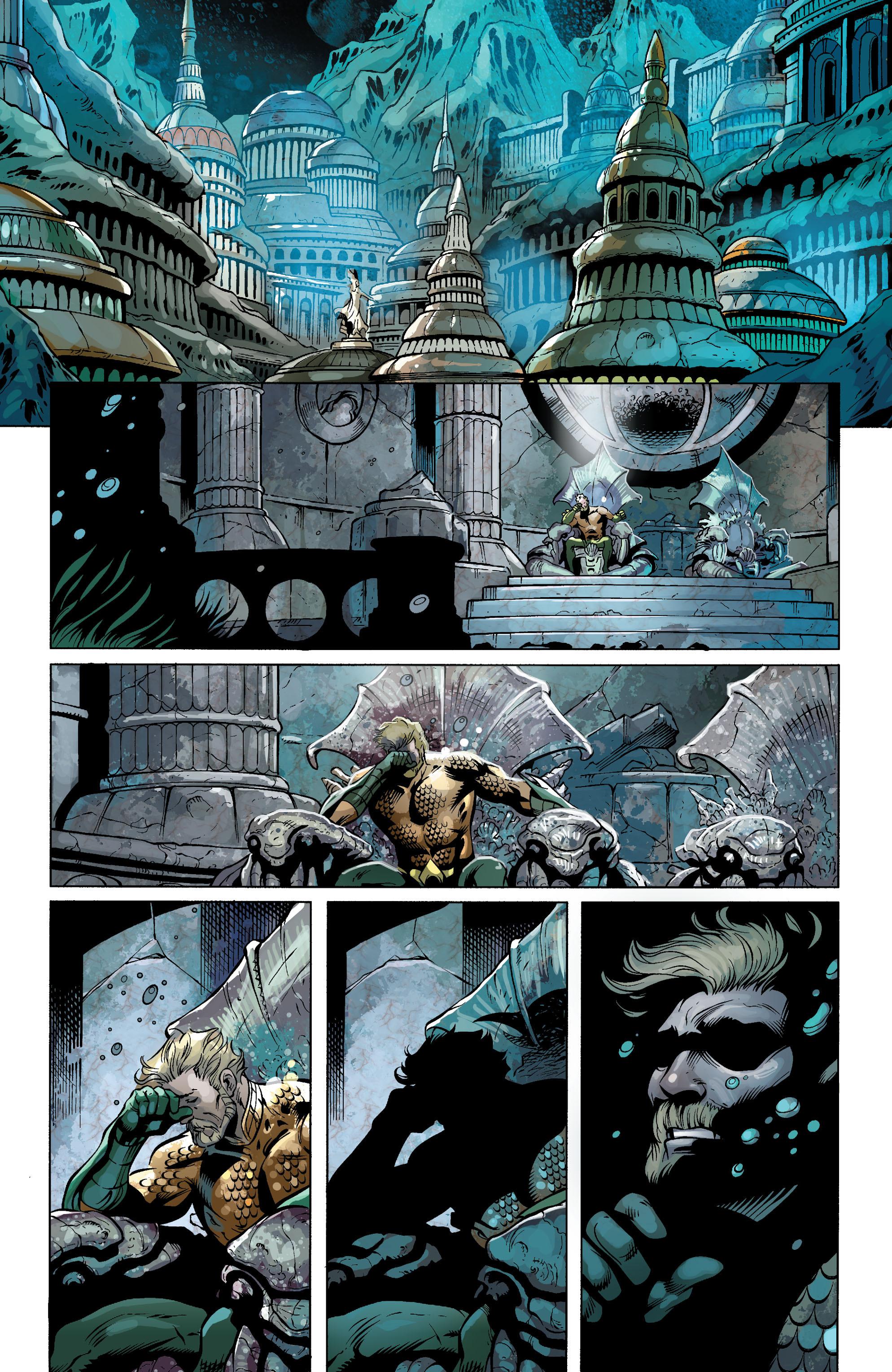 Read online Aquaman (2011) comic -  Issue #25 - 23