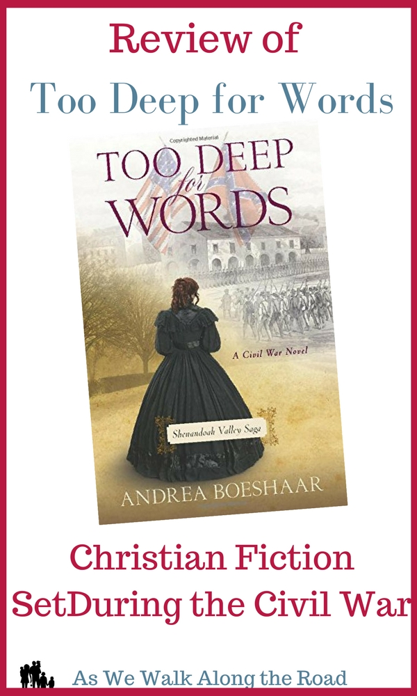 Review of Too Deep for Words by Andrea Boeshaar